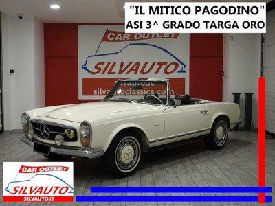 usata Mercedes 230 sl 280 sl 'pagoda' w113 con hard top cambio automatico