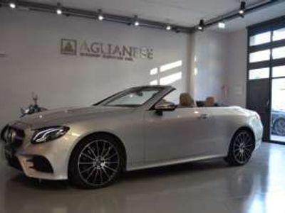 usata Mercedes E350 4Matic Cabrio Premium Plus Diesel