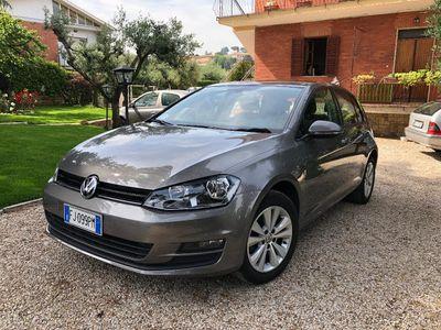 used VW Golf 1.6 TDI 110 CV 5p. Comfortline Blue