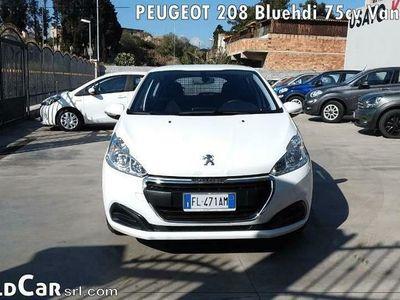 usata Peugeot 208 Bluehdi 75cv Van Active