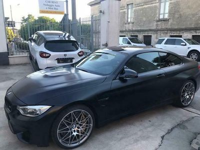 usata BMW M4 COUPE' COMPETITION GARANZIA FINE AL O7/2020