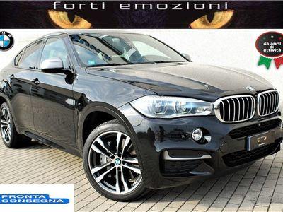 usata BMW X6 M50 50D m sport limited black