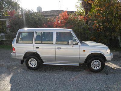 usata Hyundai Galloper 2.5 tdi wagon 7 posti. gancio tr