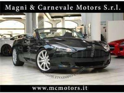 usata Aston Martin DB9 volante- metallic green crono service xeno benzina