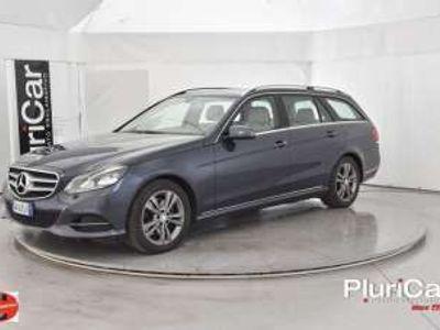 usata Mercedes E250 ClasseBlueTEC SW 4Matic auto Sport Navi EURO6 Diesel