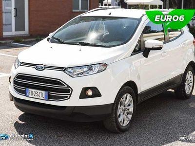 usata Ford Ecosport 1.5 tdci Plus 95cv E6