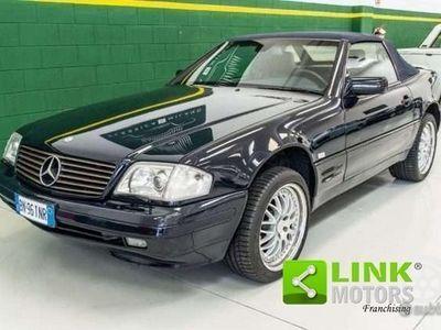 usata Mercedes SL320 cat con Fari Xeno e Sospensioni ad aria