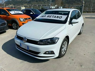 usata VW Polo TGI 90cv Metano