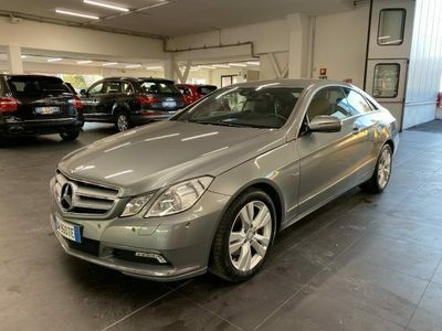 usata Mercedes E350 CDI Coupé BlueEFFICIENCY Ava