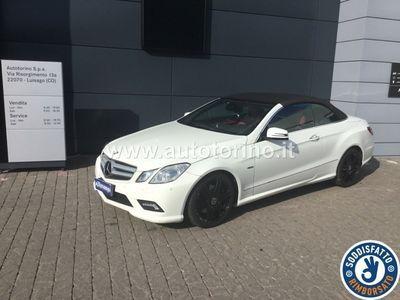 usata Mercedes 250 CLASSE E CABRIO E cabriocdi BE Avantgarde