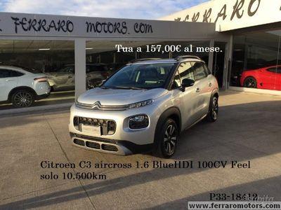 usata Citroën C3 Aircross 1.6 BlueHDI Feel solo 10.500km