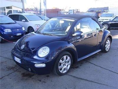 usata VW Beetle New Beetle VW NEW1600 BENZINA CABRIOLET