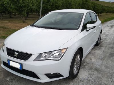 used Seat Leon km certi 34000e 2 tagliandi perla