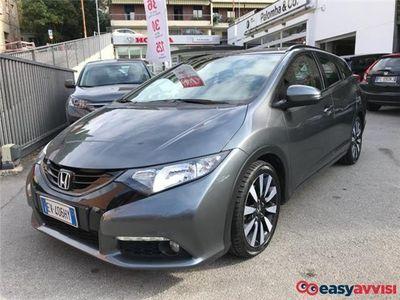 brugt Honda Civic tourer 1.6 i-dtec sport diesel
