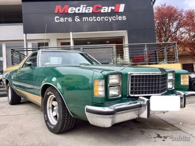 usata Ford Ranchero gt 1978 brougham 6.6 edelbrock