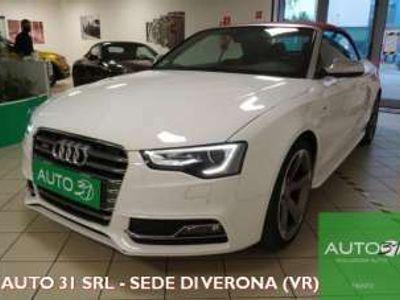 usata Audi S5 Cabriolet 3.0 V6 TFSI quattro S tronic - KM CERTIF. Benzina