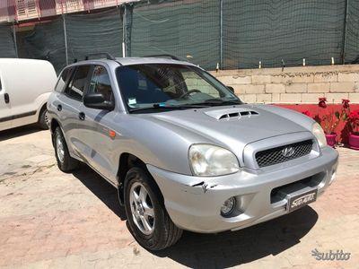 brugt Hyundai Santa Fe 2.0 CRDI 4WD 2004