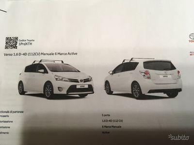 usata Toyota Verso 1.6 d-4d euro active euro 6 manuale