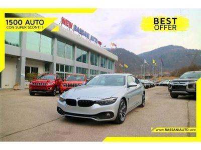 """usata BMW 418 Gran Coupé (F36) 418d 150CV PELLE/TETTE/CERCHI 18"""""""
