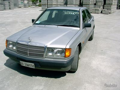 used Mercedes 190 - del 1990