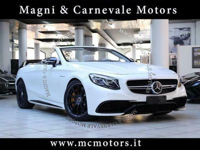 usata Mercedes S63 AMG AMG CABRIO|DRIVING ASSISTANT PACK PLUS|UFFITA|CARBO