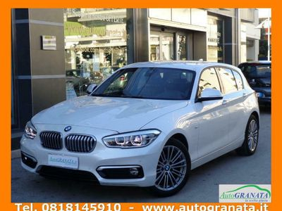 usata BMW 116 D URBAN LINE 115CV AUTO.+NAVI.+LED