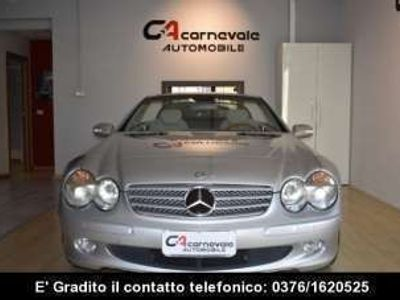 usata Mercedes SL500 DISTRON KEYLESSGO PELLE XEN SED MEM E VENT RADICA Benzina