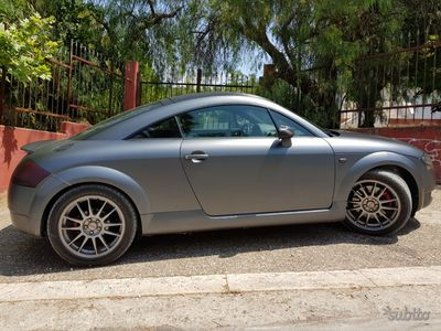 usata Audi TT 1.8t 179cv pelle clima cerchi '03 wrapping