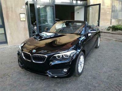 usata BMW 220 D Cabrio Advantage Aut Harman Kardrdon