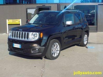 usata Jeep Renegade 1.6 Mjt 120CV Limited E6 NAVIGATORE Solo 9500 km