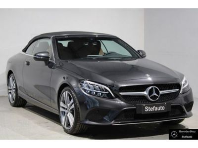 usata Mercedes C220 Classe C Cbr (A205)d Auto Cabrio Sport