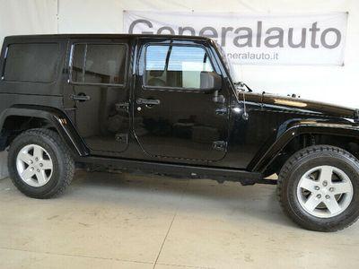 usata Jeep Wrangler Unlimited 2.8 CRD DPF Sahara