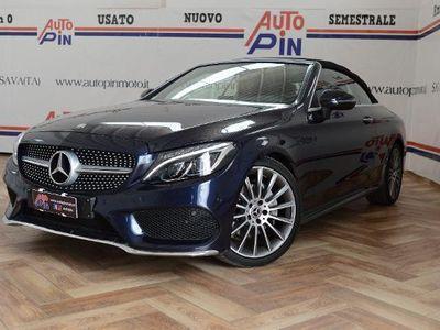 used Mercedes C220 220d Auto Cabrio Premium+Hair scarf Listino 70.000