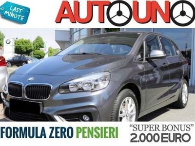 usata BMW 216 Serie 2 A.T. (F45) d Advantage Steptronic
