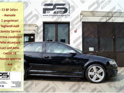 usata Audi S3 8P 2.0 TFSI 265cv Quattro Manuale