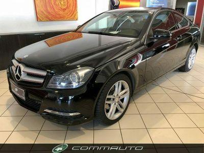 usata Mercedes C220 cdi coupé avantgarde unico proprietario