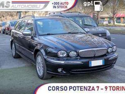 usata Jaguar X-type X-Type2.5 V6 24V GPL 4WD Wagon Luxury Navigatore Pelle Unicoproprietario Benzina