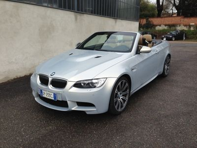 """usata BMW M3 Cabriolet Dkg Tagliandi Navi M-power 19""""stupenda Usato"""