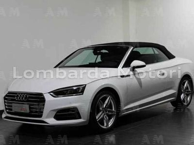usata Audi A5 Cabriolet 2.0 tdi Business Sport quattro 190cv s-tron