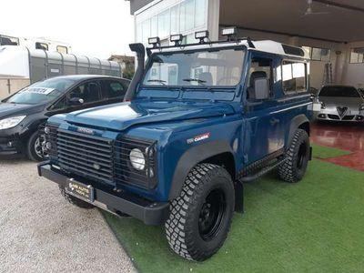 usata Land Rover Defender 90 2.5 Td5 6 POSTI GANCIO TRAINO E CLIMA