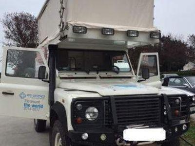 brugt Land Rover Defender 110 TD5 CAMPER GANCIO ALLESTITO