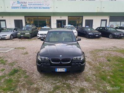 usata BMW X3 3.0d DIESEL FULL TETTO NAVI PELLE