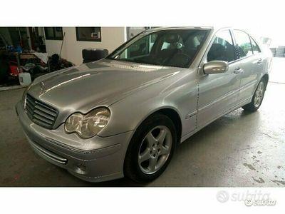 usata Mercedes C220 cdi elegance restyling 150cv
