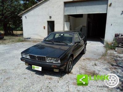 usata Maserati Biturbo anno 1985, iscritta ASI, perfettamente conservata