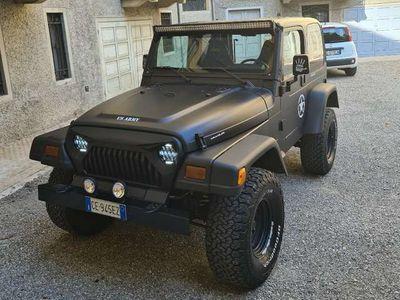 usata Jeep Wrangler 4000 OMOLOGATO GPL