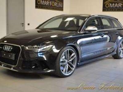 "usata Audi RS6 4.0 tfsi q.s-tron.dynamic radar tetto bose 21""full benzina"