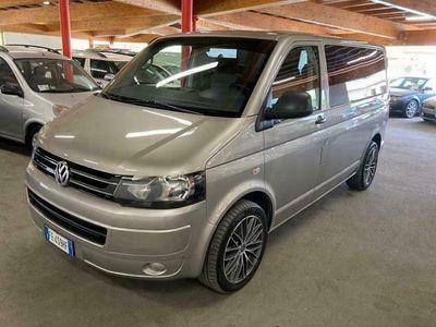 usata VW Multivan T52.0 TDI Bett 6 posti 140 CV Alu 18