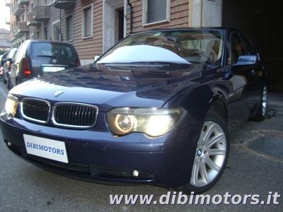 usata BMW 745 FULL KM 124000 ORIGINALI!