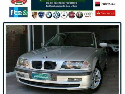 usata BMW 320 d turbodiesel cat 4 porte