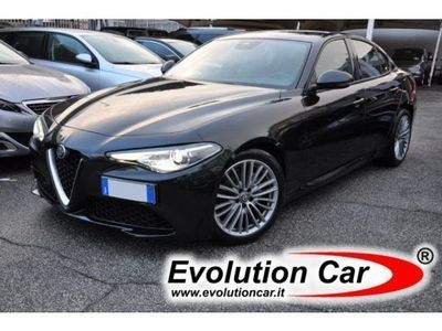 "gebraucht Alfa Romeo Giulia 2.2 TD 150 CV AT8 SUPER NAVI PELLE BIXENO 18"" PDC"